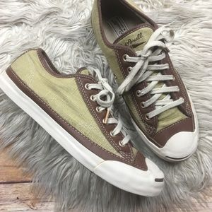 Converse | Jack Parcell Tan All Star Sneakers